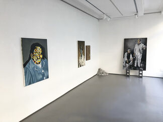 The Devil Loves When We Loathe Ourselves, installation view