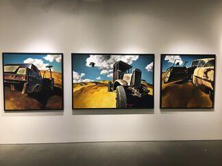 """Z.Z. Wei """"Vistas"""", installation view"""