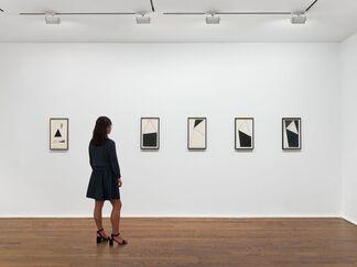 Mira Schendel. Sarrafos and Black and White Works, installation view