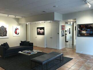 BIG ART. small canvas., installation view