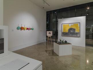 Carl Plackman & his Circle, installation view