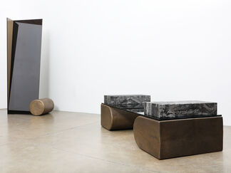 """""""UNSETTLED"""" by Brian Thoreen, installation view"""