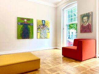 Galerie Schindler (Schindler, Sandra) at POSITIONS Berlin 2020, installation view
