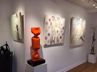 "Exhibit Jhina ALVARADO - ""New Works"", installation view"
