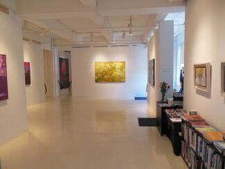 Ralph L. Wickiser, The Reflected Stream: The Abstract Years 1985 - 1998, installation view