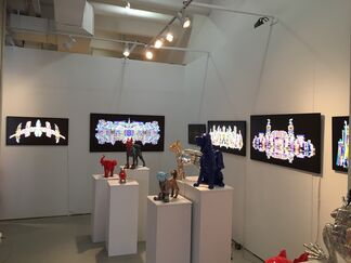 Galleria Ca' d'Oro at SELECT New York 2015, installation view