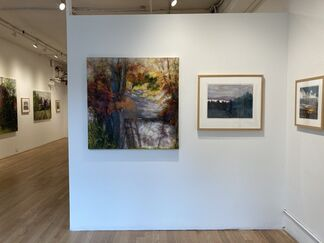 Helene K. Manzo Time of Day/Night, Paintings and Monotypes, installation view