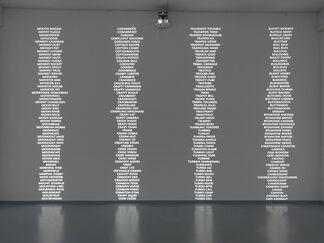 Trevor Paglen: Code Names, installation view