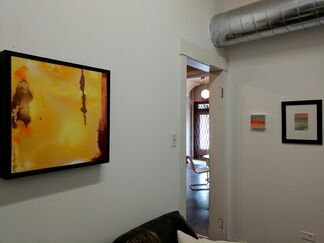 Intuitive Ink, Solo Exhibit, Jan Fayhee, installation view