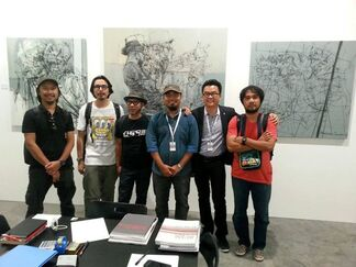 G13 Gallery at Art Stage Singapore 2015, installation view