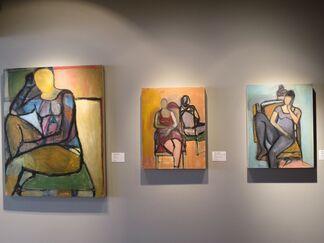 Karen Kosoglad: Contour, Gesture, and the Figure, installation view