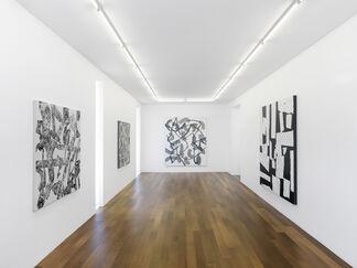 Yves Zurstrassen, installation view