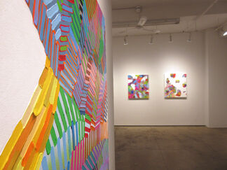 MARTINA NEHRLING Vivid and Continuous, installation view