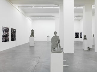 Justin Matherly, the quiescence of the inorganic world, installation view