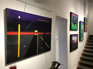 New Works by John Axton, installation view