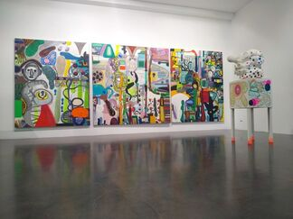 Ponce + Robles at Apertura Madrid Gallery Weekend 2020, installation view
