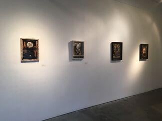 Cardinal Points curated by Vicky Romay: Geandy Pavon, Esteban Blanco, Antonio Nunez and Jose Ney, installation view