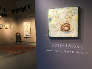 Jessie Pollock: Vernal Pools and Other Landscapes, installation view