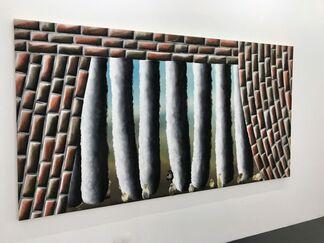 Mauer mit Aussicht, installation view