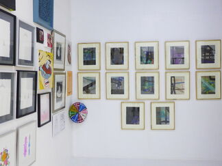 Time Lapse: an evolving exhibition of small works, installation view