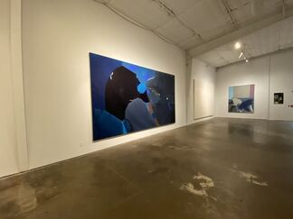 Earth & Space: Dorothy Hood and Daniel Kayne, installation view