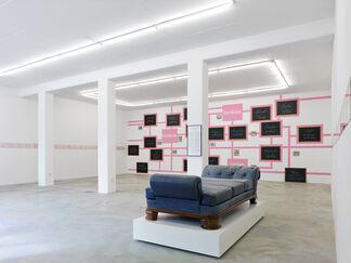 Falk Haberkorn – Flüchtig Hingemachte Männer, installation view