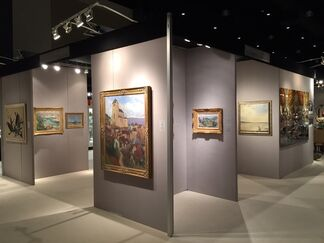 Waterhouse & Dodd at Palm Beach Jewelry, Art & Antique Show 2015, installation view
