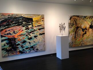 Cross Mackenzie Gallery at Art Southampton 2015, installation view