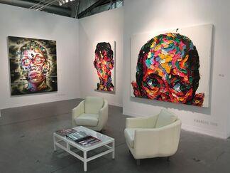 UNIX Gallery at Art New York 2017, installation view