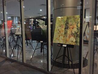 Vittorio Gui and Carlo Ferrari on show at the Swiss Tower JLT in Dubai, installation view