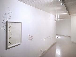 Pairar adentro, installation view