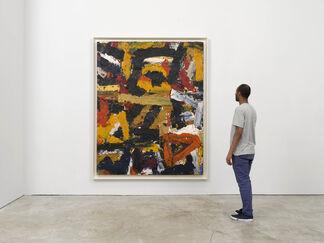Al Held: Paris to New York 1952–1959, installation view