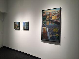 "Richard Raiselis ""Time for Reflection"", installation view"