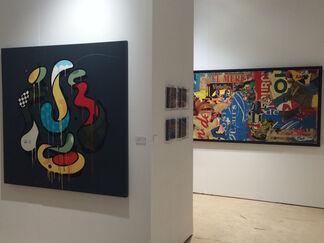 french art studio at SCOPE Miami Beach 2015, installation view