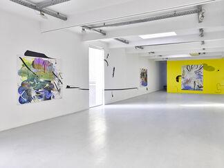 Florin Kompatscher - COMIX & ATLANTIX, installation view