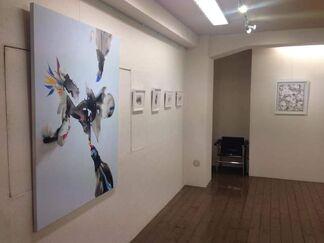 Miki Saito solo exhibition 'Celestial Crossing', installation view