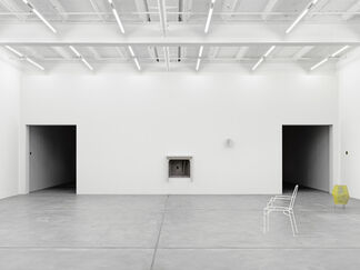 Martin Boyce, Inside rooms drift in and out of sleep While on the roof  An alphabet of aerials   Search for a language, installation view