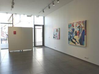 Féline Minne, installation view