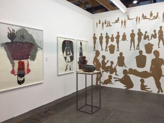 Tiwani Contemporary at Art Brussels 2015, installation view