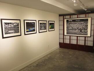 David Burnett - Man Without Gravity, installation view