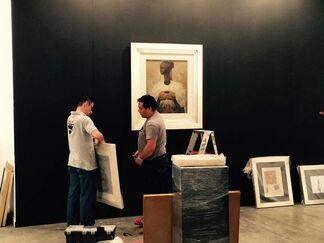 Oscar Roman at Zona MACO 2015, installation view
