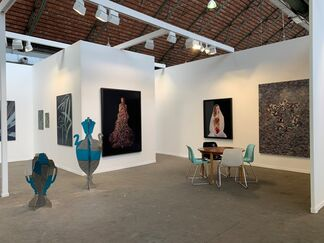 Wetterling Gallery at Art Brussels 2019, installation view