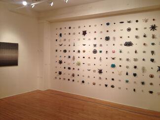 Material Grid: Christopher Wade Adams, Marietta Hoferer, Tamiko Kawata, Michael Kukla, and Susan Schwalb, installation view