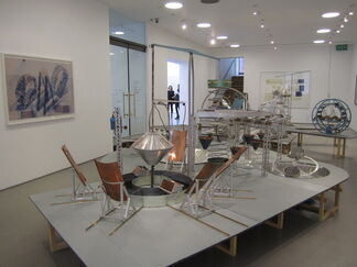Dennis Oppenheim: Thought Collision Factories at Henry Moore Institute, installation view