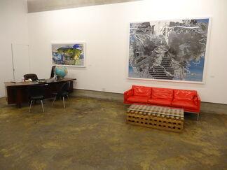 Katherine Mann : Trellises, installation view