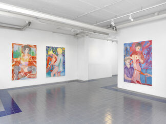 Max Maslansky - Midnight Blue, installation view