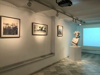 WOMAN:CREATOR AND MOTIVE, installation view