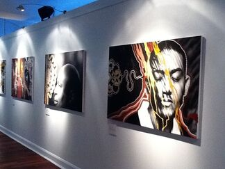 PORTRAIT OF DIVERSITY (supported by the State Government of Western Australia for the Commonwealth Heads of Government Meeting, Perth, Australia), installation view