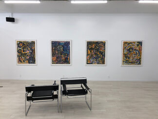 Harold Klunder: Recent Watercolour Paintings, installation view