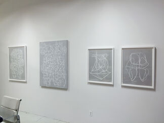 CARIN RILEY LINEAR FIGURATIONS, installation view